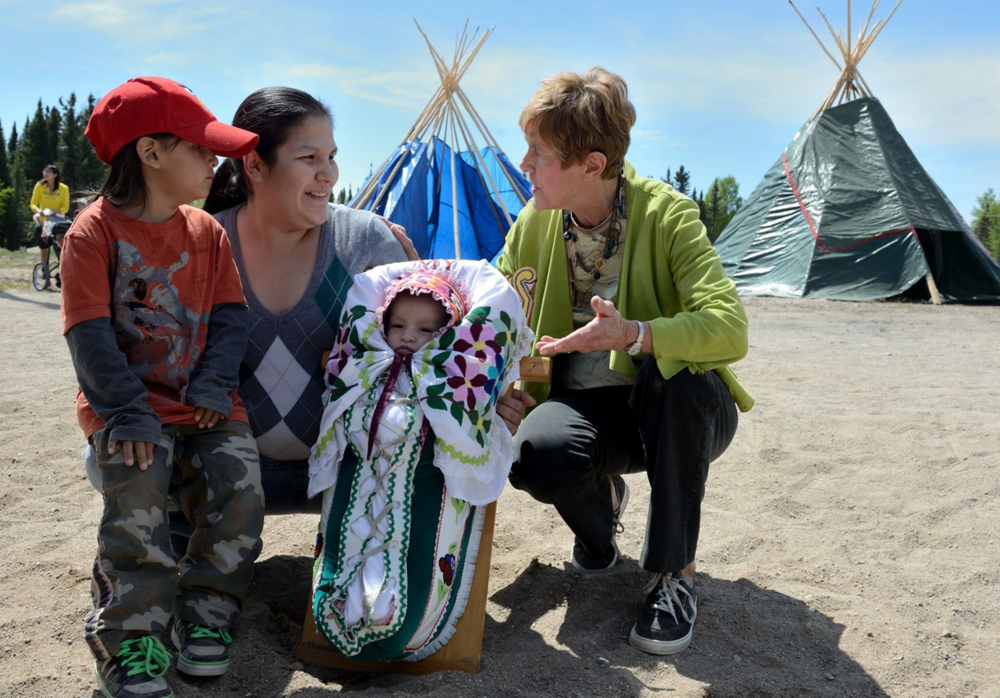 see the photo album for th reconciliation trip taking place in the community shown in the film 3rd World canada & find out why youth are inviting canadians to spend a week in a family's home.