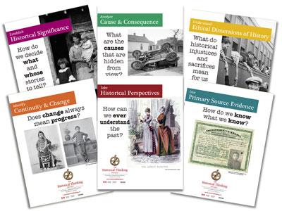 la pensée historique six concept en poster