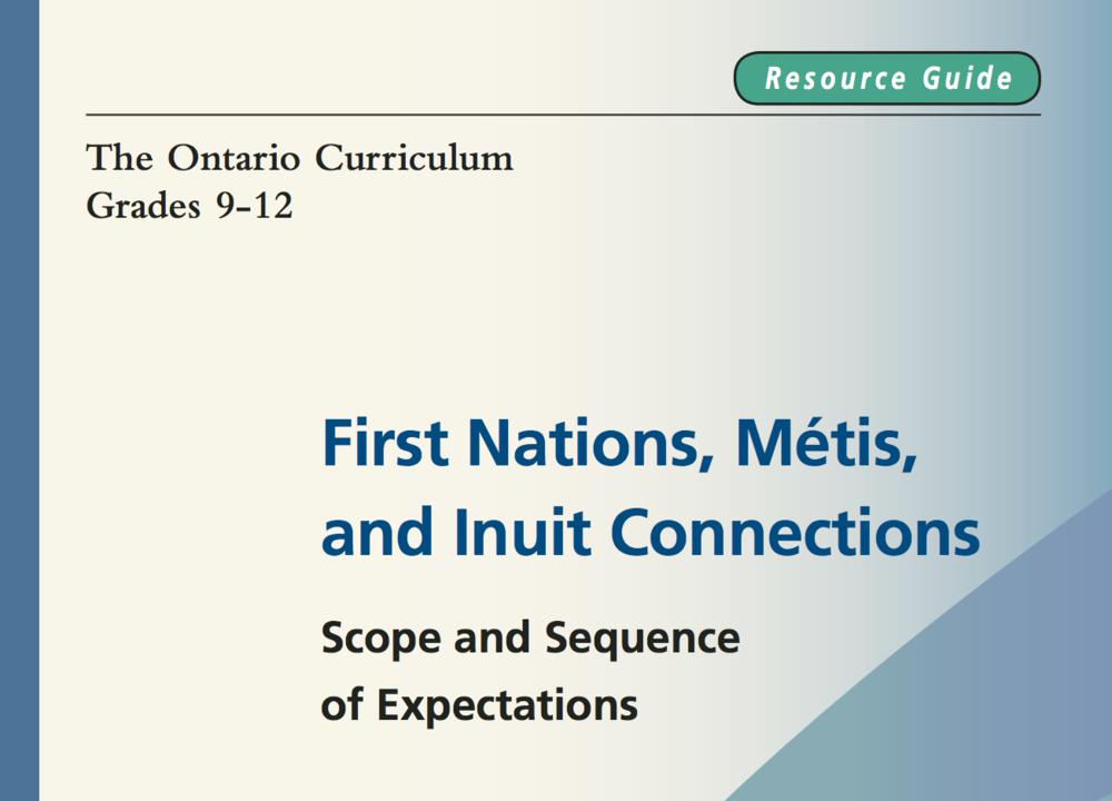 Ontario 9-12 curriculum