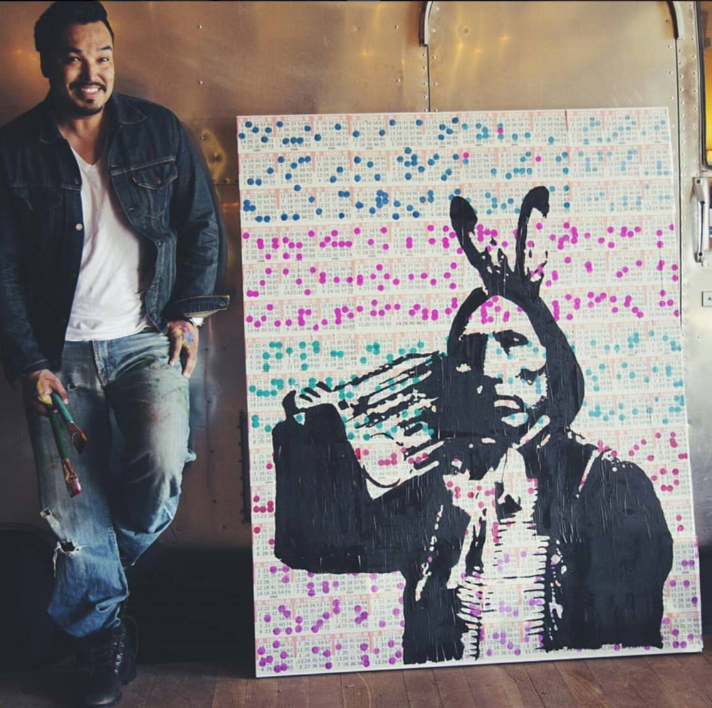 discover pop artist steven paul judd whose photos and short film, first contact is featured in 4 seasons of reconciliation:  rEAD Here