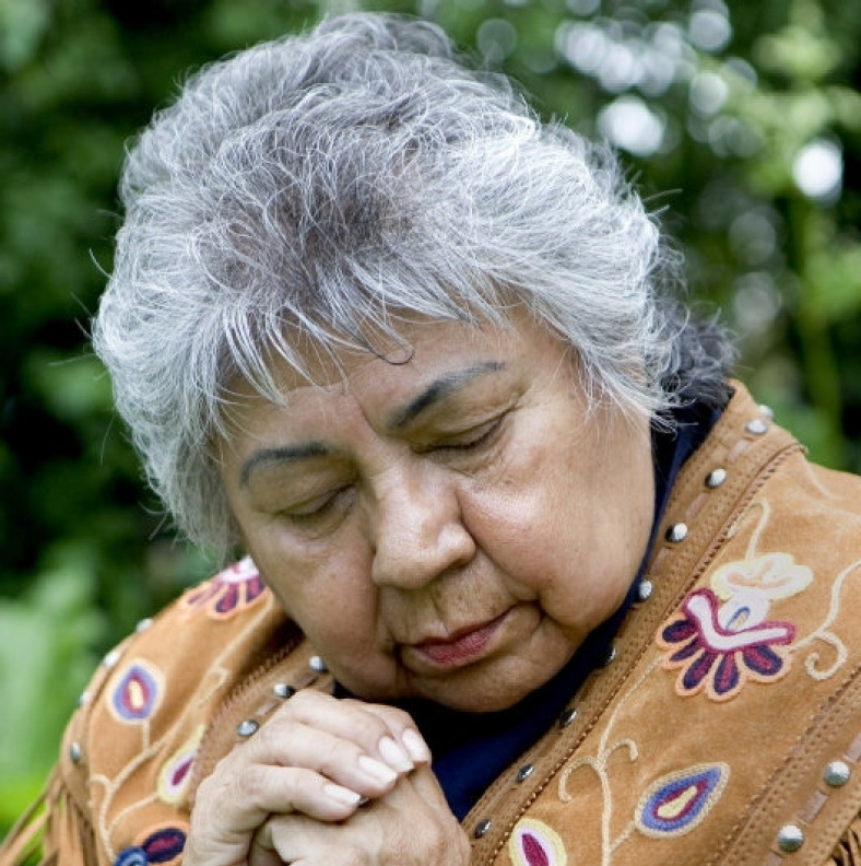 shirley williams (above) tells her story of surviving residential school   here .