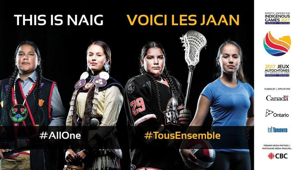 Les Jeux autochtones de l'Amérique du Nord de 2017 à Toronto (JAAN) devraient être le plus grand rassemblement sportif et culturel des peuples autochtones en Amérique du Nord et accueilleront plus de 5000 athlètes. Visiter le Site.