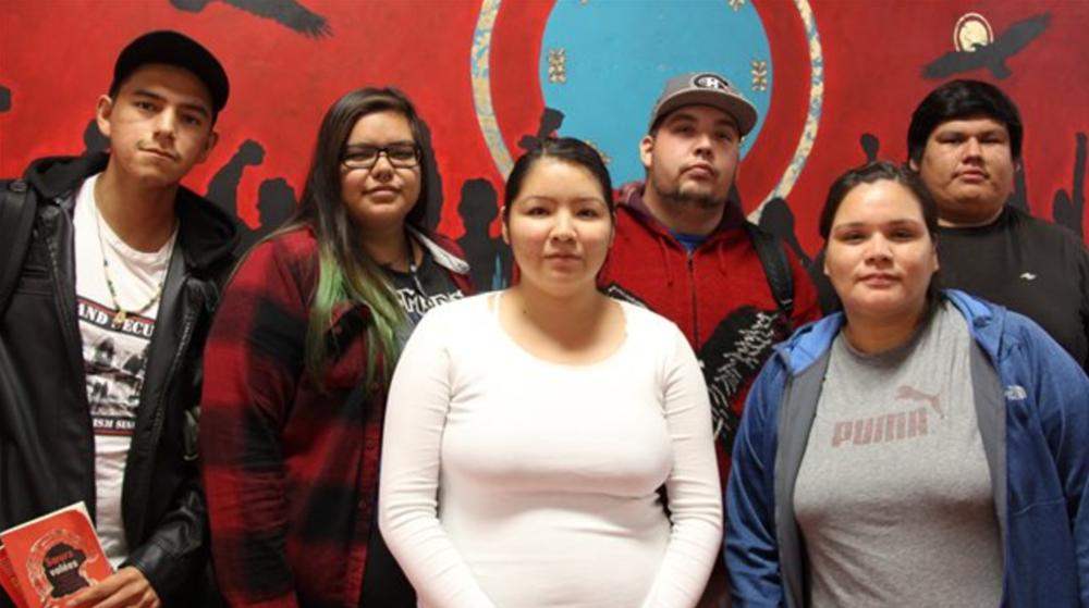 Hugo Lavoie a rencontré certains étudiants qui seront diplômés depuis l'ouverture du seul cégep pour Autochtones au Québec,