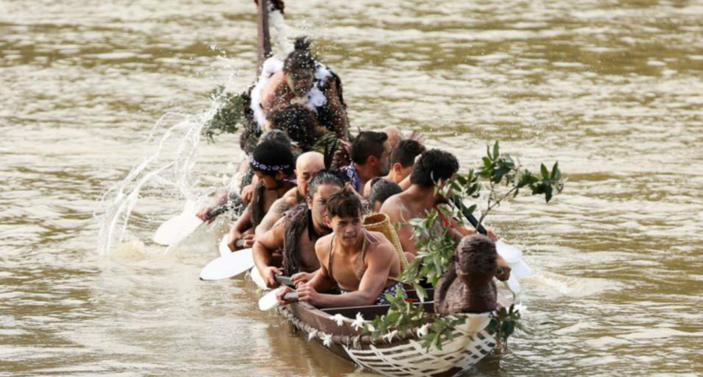 En Nouvelle-Zélande, la   rivière Whangan  u   i  chère au peuple Maori est désormais considérée comme une personne légale aux yeux de la justice.