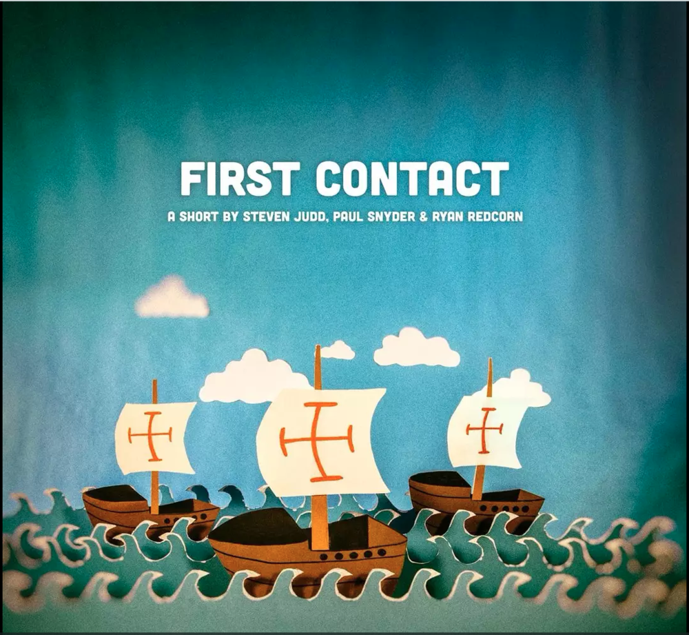 'First Contact' - https://vimeo.com/145098773
