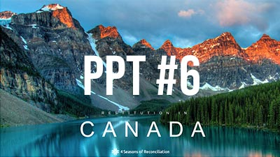 PPT #6 Restitution in Canada