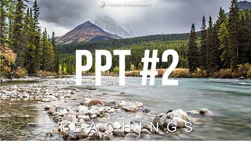 PPT#2 - Wampum Belt Teachings