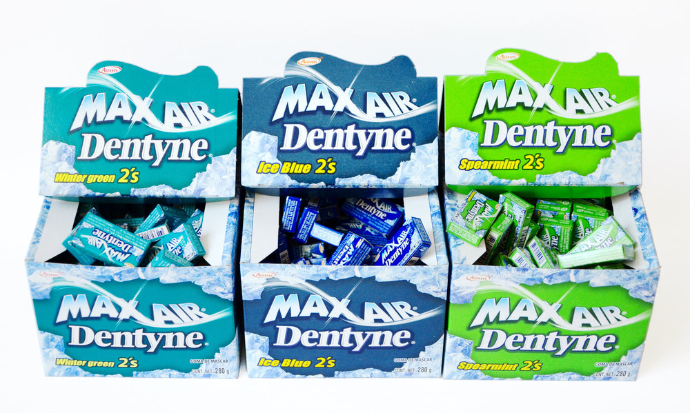 max air dentyne
