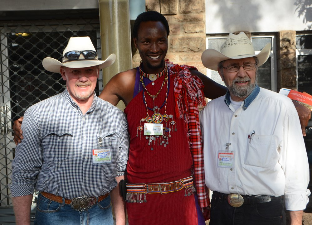 Denny Iverson, Blackfoot Challenge – Maasai Moses, Professional Safari Guide – Johnny Sundstrom, Siuslaw Institute / RVCC Leadership Team