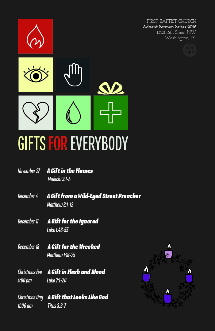 Sermon For The Feast Of St Michael All Angels: Advent Sermon Series: Gifts For Everybody