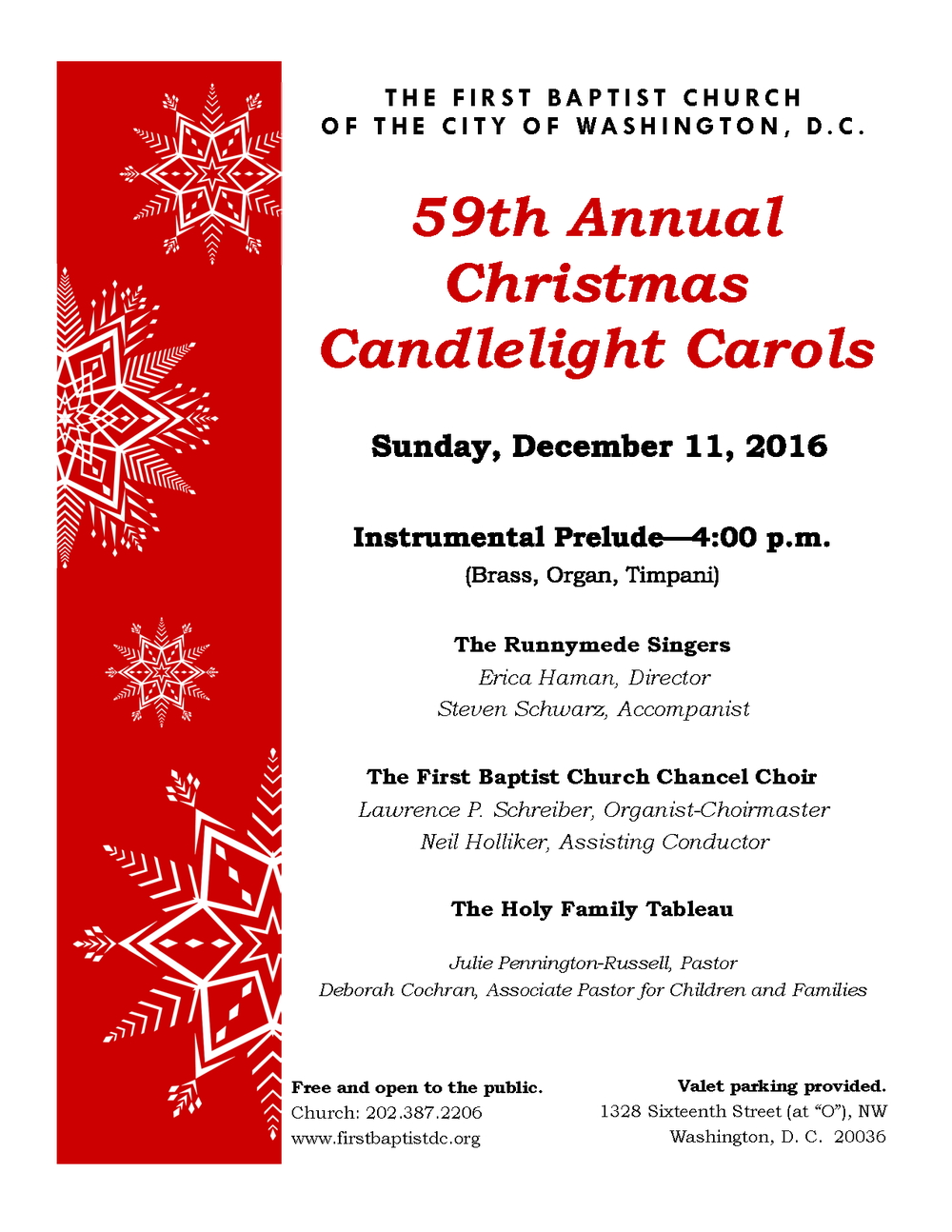 2016 Candlelight Carols poster December 11.png