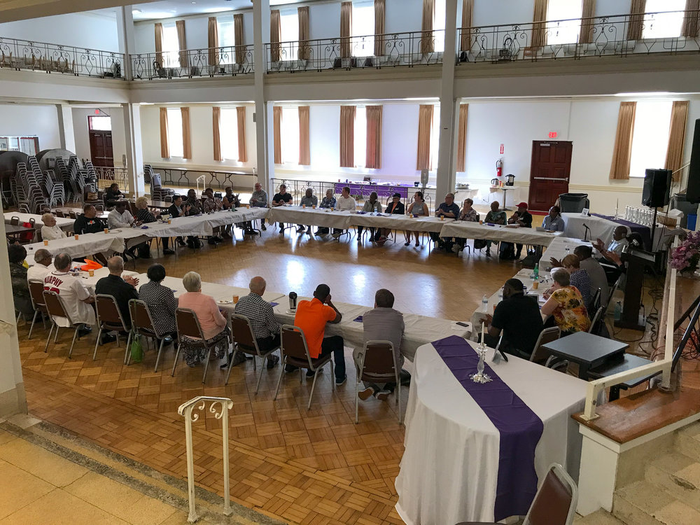 Saturday Sep 15, 2018 - Breakfast and discussions with 19th St Baptist