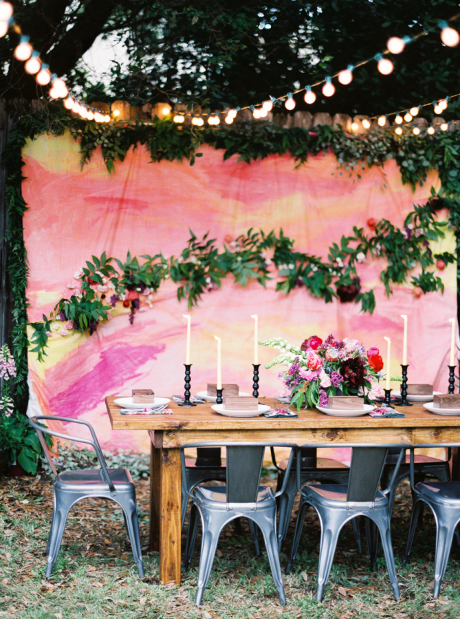 Friendship & Florals: A Backyard Celebration