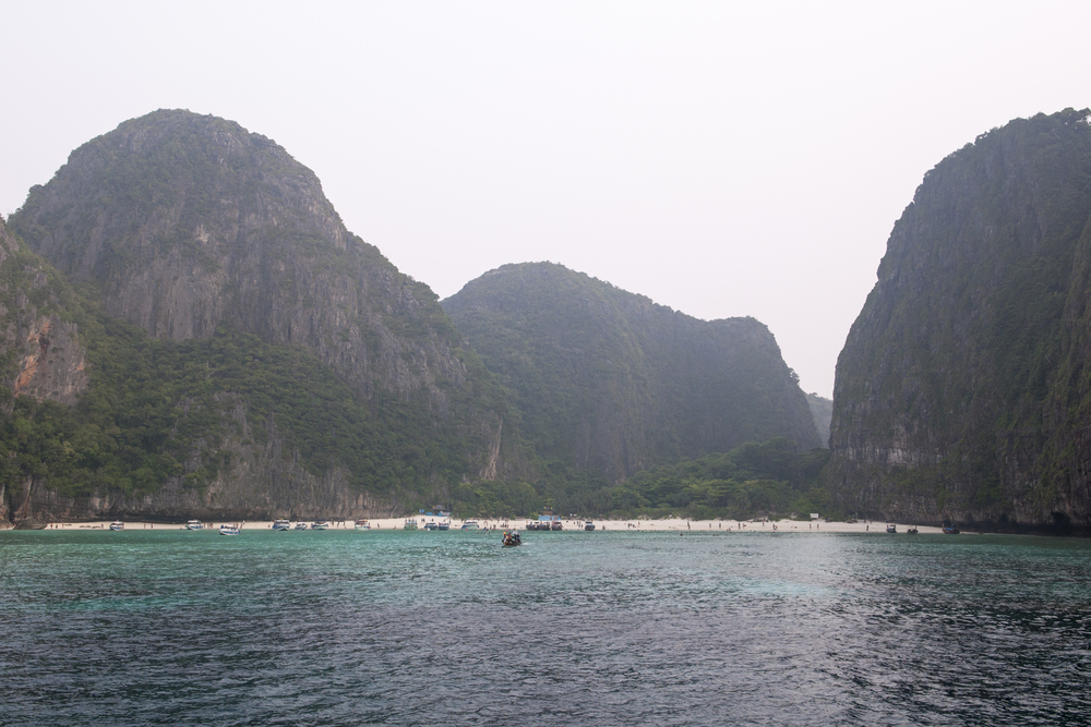 Maya Bay - Made famous by the movie   The Beach