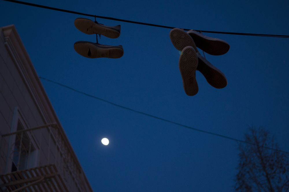 Day 49 - Hanging Shoes