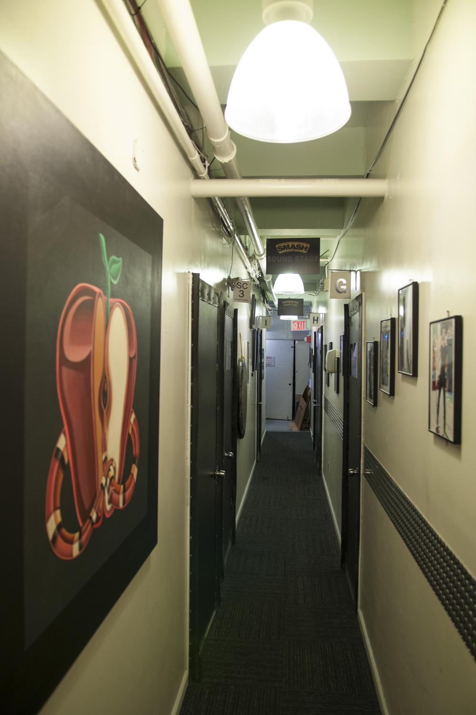Day 60 - Smash Studios Hallway