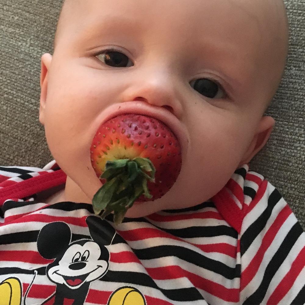 Strawberry baby!