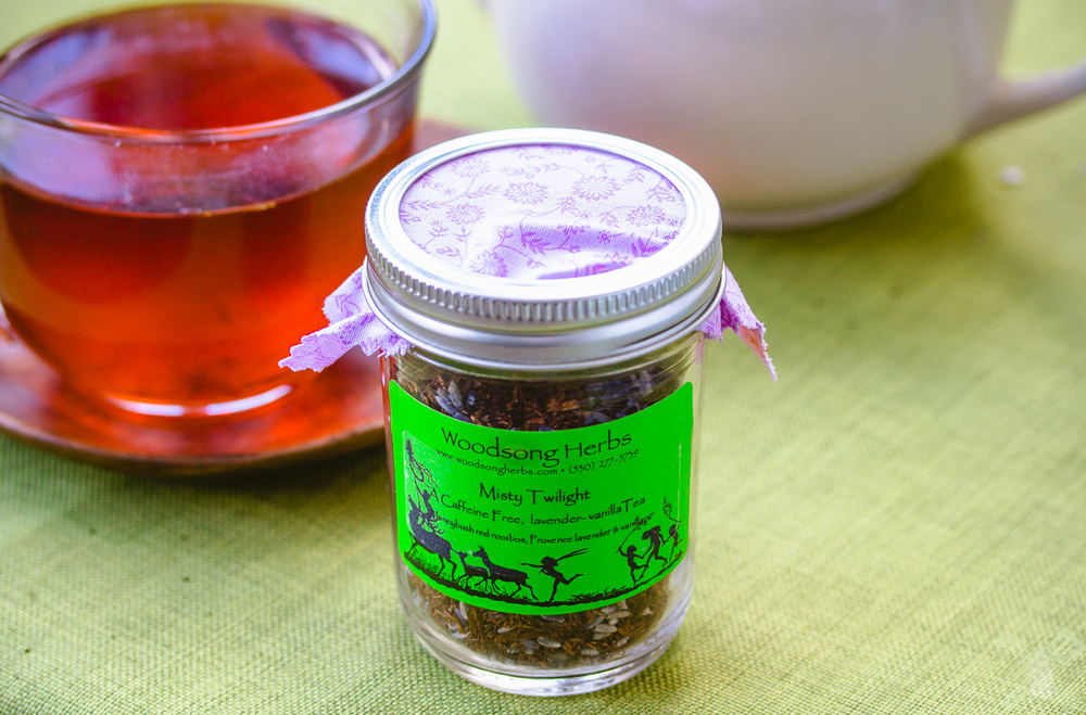 Lavender and Vanilla sleepy tea