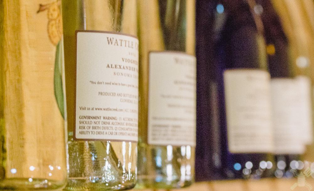 Selection of Wattle Creek Wine