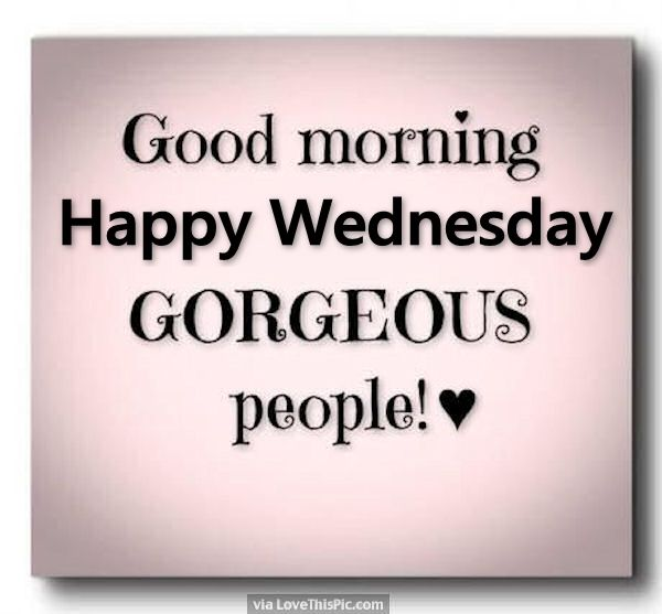 Happy Wednesday!!