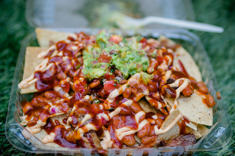Look at the messy deliciousness that is brisket nachos!