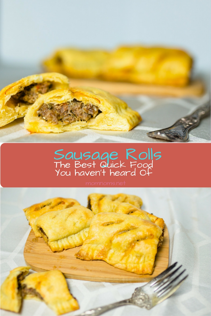 Starting my trip to England with a fantastic English recipe for you!   Sausage rolls are so uncommon in the United States, but they are all around and delicious in the UK. I share my special recipe with you!