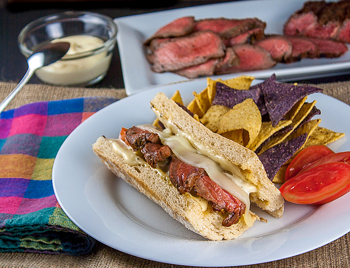 This is the perfect sandwich for your tailgating needs!