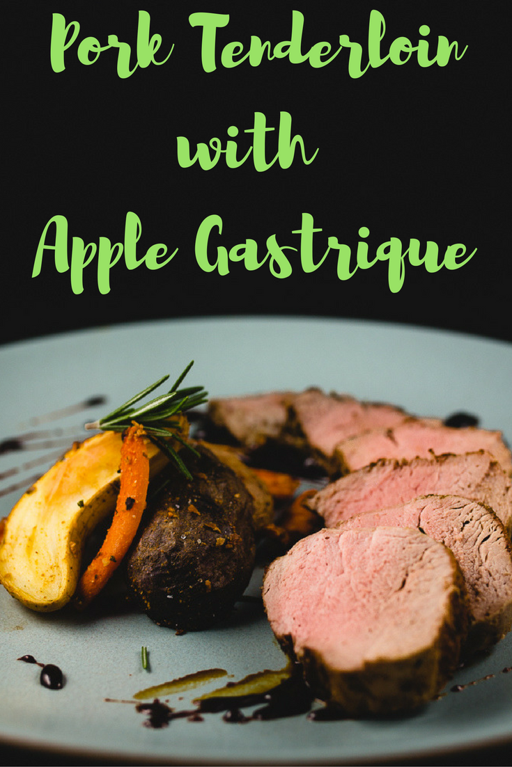 Pork and apple go together like mac and cheese  This recipe mimics pork chops and apple sauce and gives you something so amazing