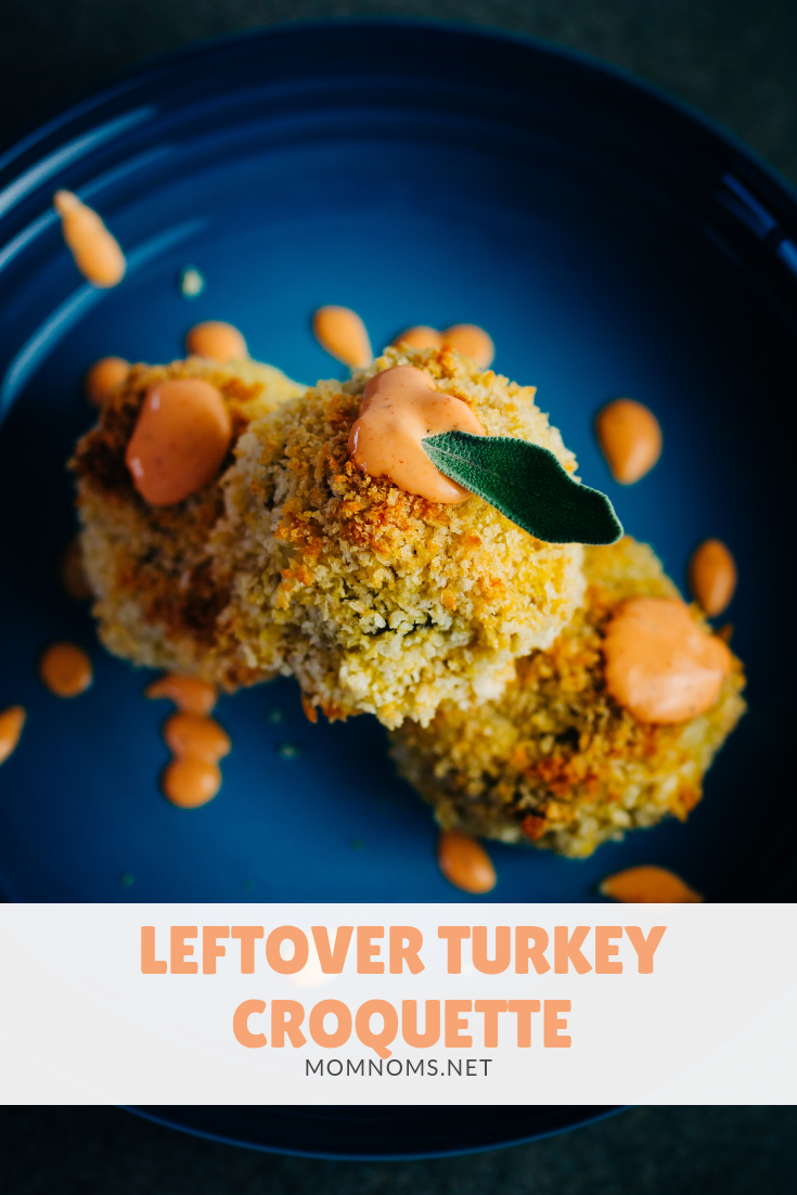The holidays leave you so many leftovers and most of the time you have no idea what to do with them! I have made a quick and easy recipe to make croquettes with your leftovers!
