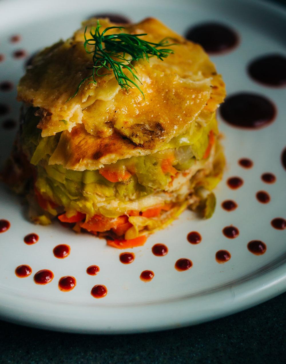 instant pot vegetarian lasagna