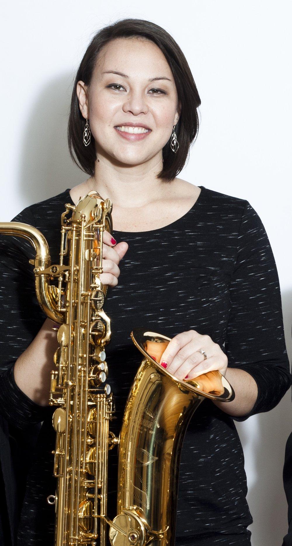 Kimberly Goddard Loeffert - baritone saxophone