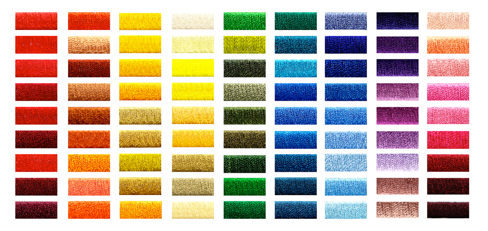 EMbroidery Stitch Colors