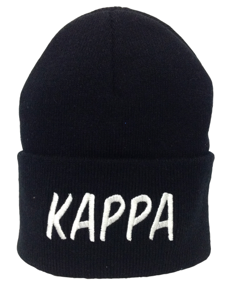 dded127b Kappa Kappa Gamma Embroidered Beanie - Adam Block Design