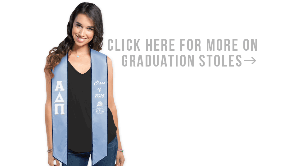 Click Here for More on Graduation Stoles