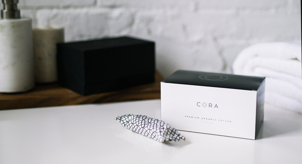 cora organic period subscription boxes