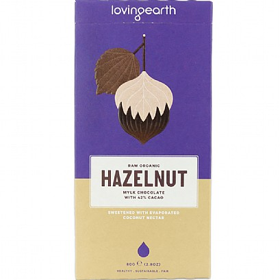 Loving Earth Hazelnut Mylk Chocolate
