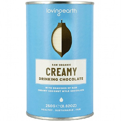 Loving Earth Raw Organic Creamy Drinking Chocolate