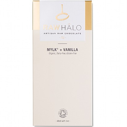 Raw Halo Mylk + Vanilla Chocolate