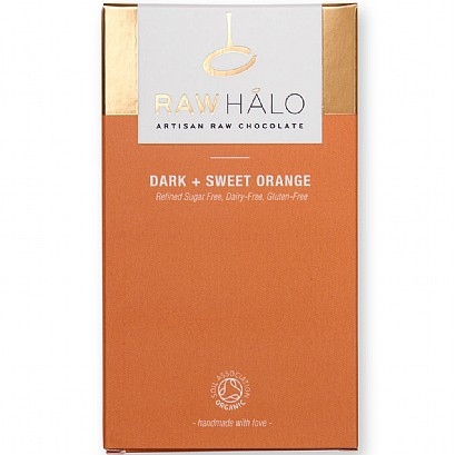 Raw HaloDark + Sweet Orange Chocolate