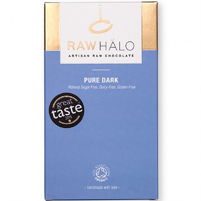Raw Halo Pure Dark Chocolate