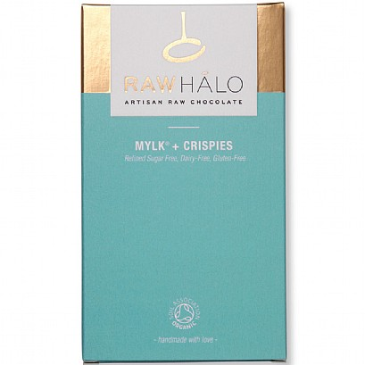 Raw Halo Mylk + Crispies Chocolate