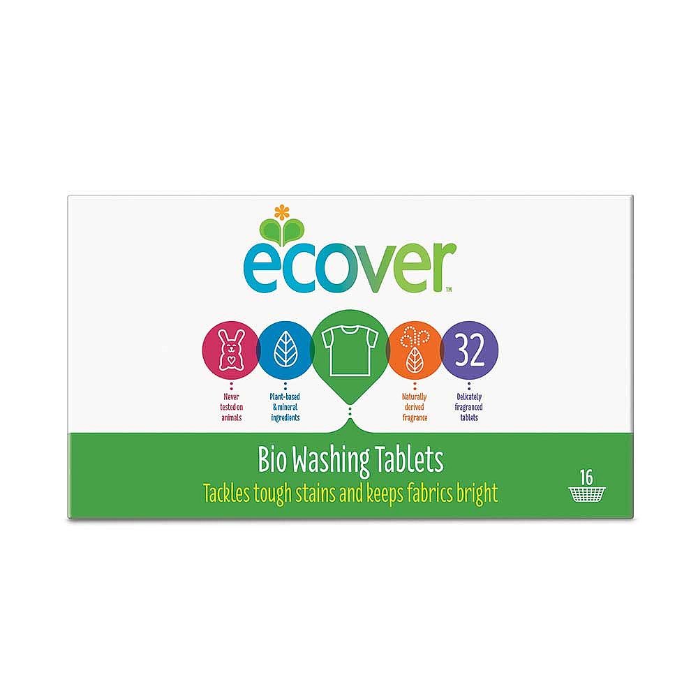 Ecover Bio Washing Tablets