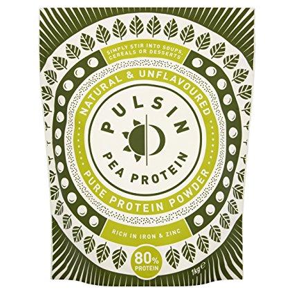 Pulsin Unflavoured Pea Protein Powder 1kg