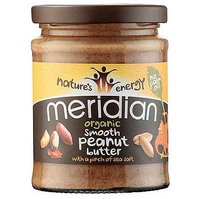 Meridian Organic Smooth Peanut Butter with Salt