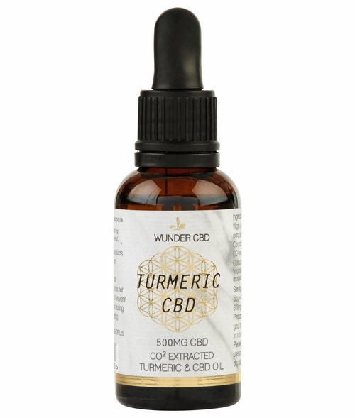 Wunder Workshop Turmeric CBD Oil (500mg)