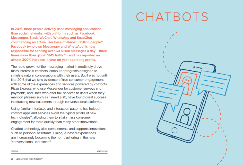 An article on chatbots, and their potential future impact