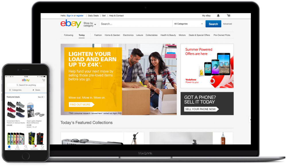 We rolled out numerous iterations to features across the eBay product portfolio