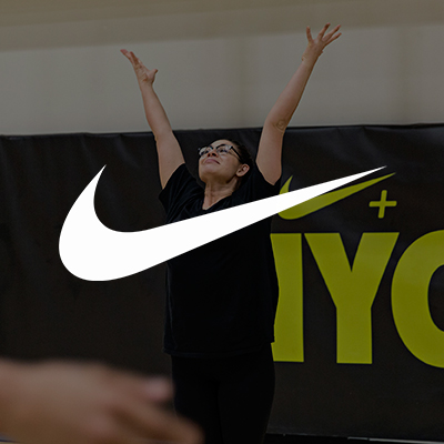 Claire's experience with Nike+ Training Club guiding large yoga session groups.