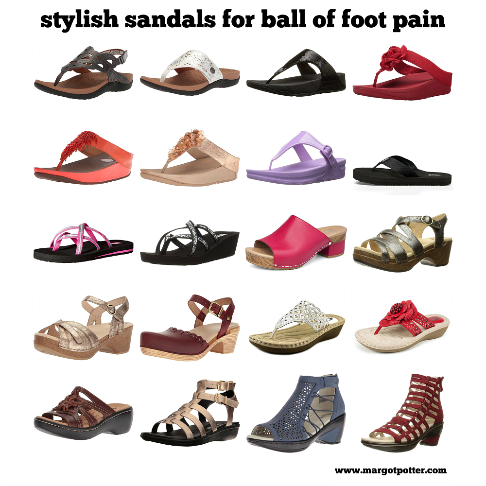 stylish sandals for ball of foot pain.png