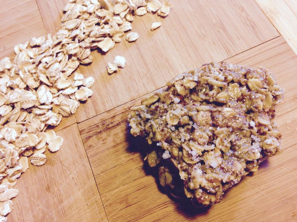 Biscuits à l'avoine protéinés, sans cuisson